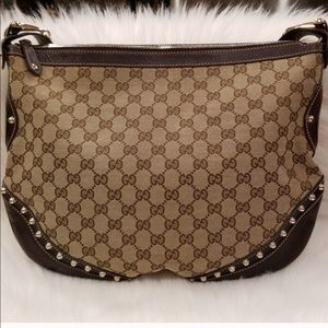0a31be9d16a Gucci Bags - Gucci Pelham Borchie Monogram Canvas hobo bag